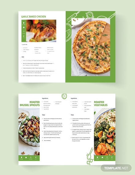 Download Healthy Cookbook Template