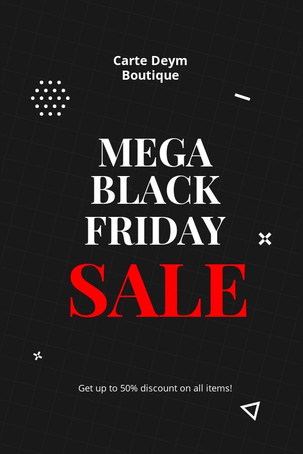 Free Black Friday Sale Pinterest Pin Template.jpe