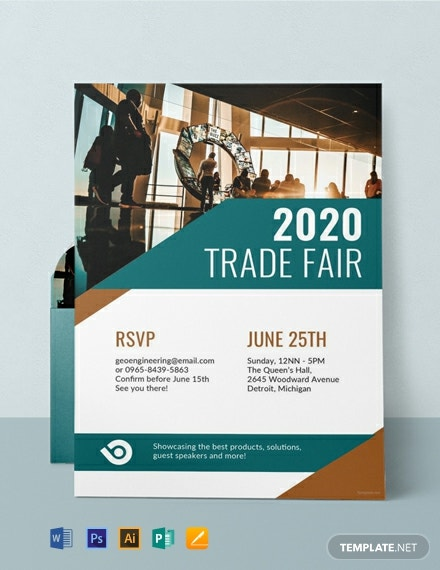 Free Corporate Event Invitation Template Word Psd