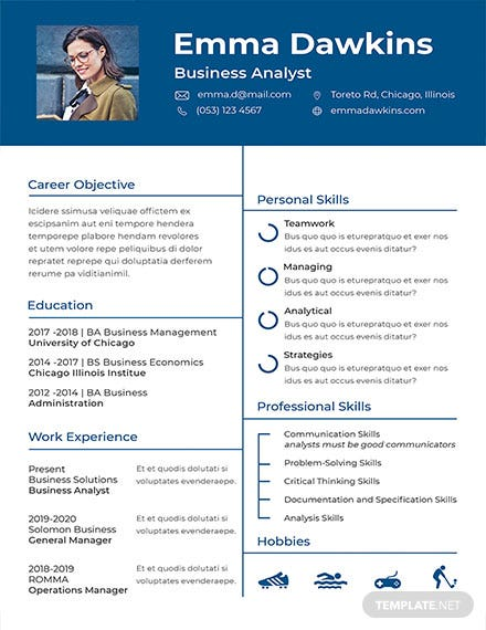 free basic receptionist resume and cv template  download