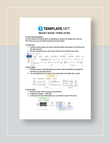 New Employee Training Checklist Instructions
