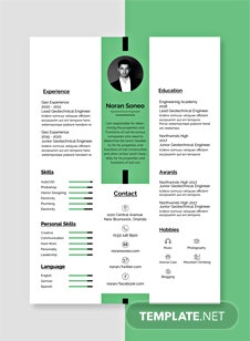 on template cover letter and resume free ai cv for civil engineer vgwokq