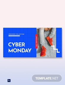 Cyber Monday Discount Sale Blog Post Template
