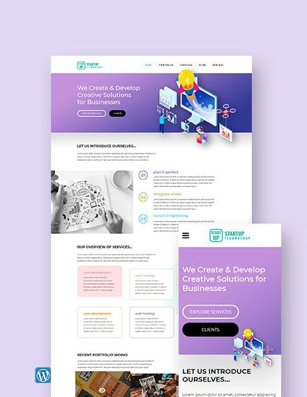Startup WordPress Theme/Template
