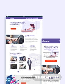 Online Courses WordPress Theme/Template