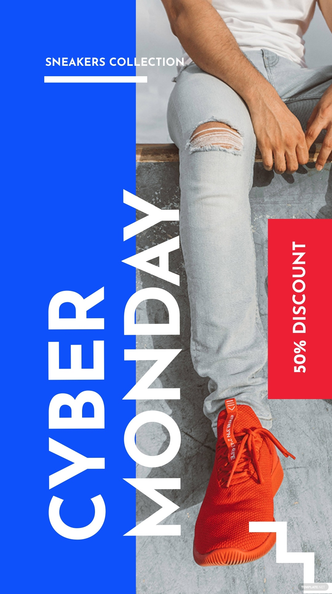 Cyber Monday Discount Sale Instagram Story Template