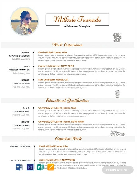 Permalink to Free Professional Resume Templates