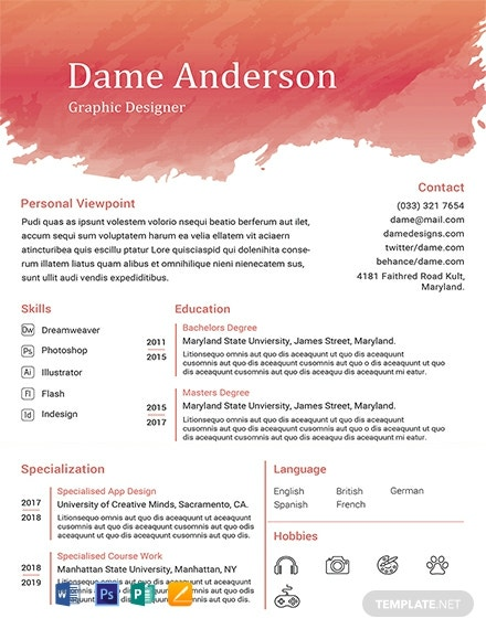 24  free fresher resume templates in microsoft word  doc