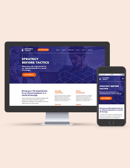 Business Advisor WordPress ThemeTemplate Download