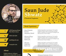 Free Chemical Engineer Resume Template