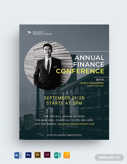 Annual Conference Flyer