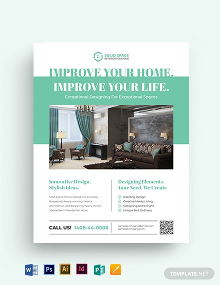 Architect Interior Flyer Template