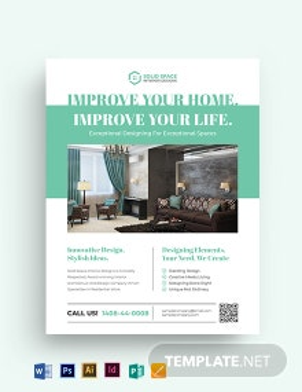 Architect Interior Flyer Template