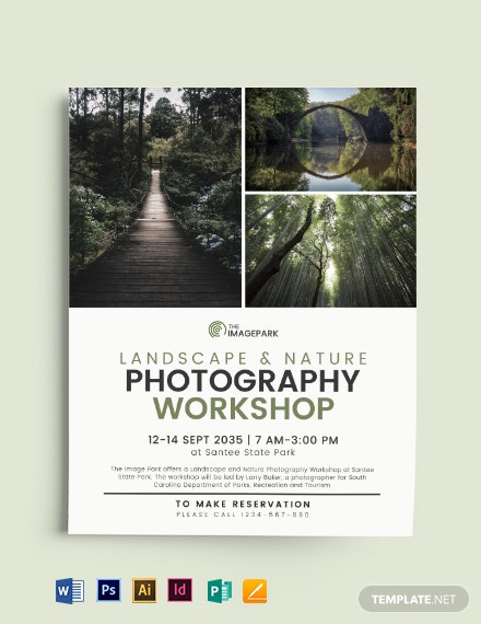 Collage Photography Flyer Template