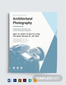 Corporate Photography Flyer Template