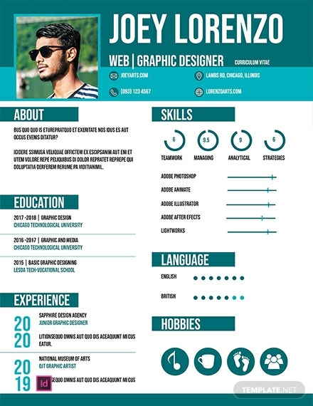 free internship cv and resume template  download 2059  resume templates in psd  word  publisher