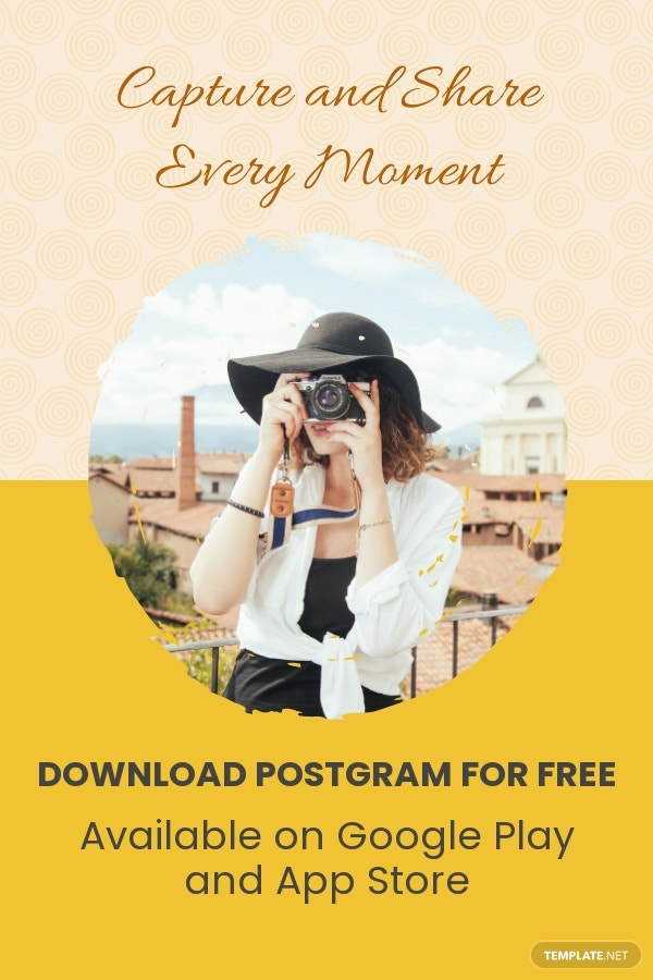 Free Mobile App Promotion Pinterest Pin Template.jpe