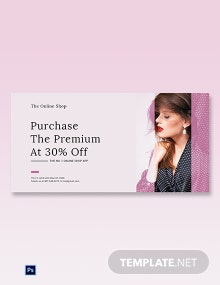 Free Shop App Promotion Blog Post Template