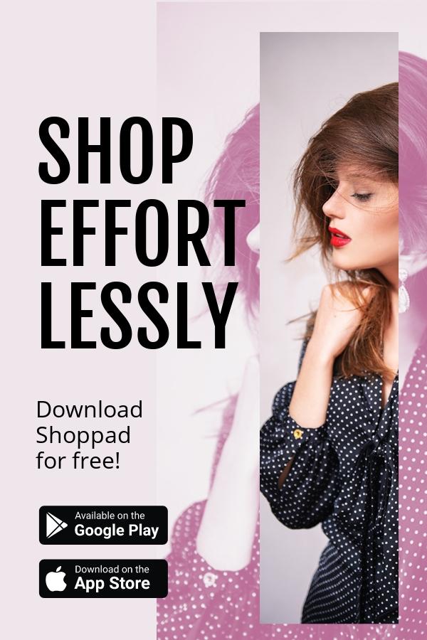 Shop App Promotion Pinterest Pin Template