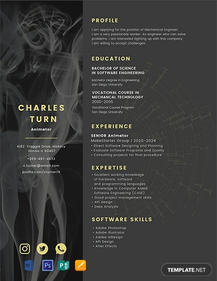 22 FREE Creative Resume Templates Download Ready Made Samples