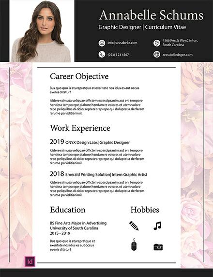 Free Generic Resume Template