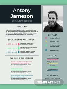 free computer specialist resume template - Social Media Specialist Resume