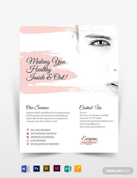Accordion Fold Flyer Template