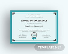 Free company training certificate template in psd ms word free training excellence award certificate template yelopaper Gallery