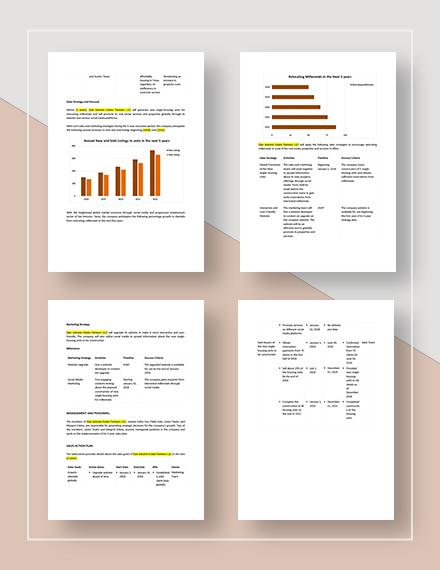 Sample  Year Sales Plan