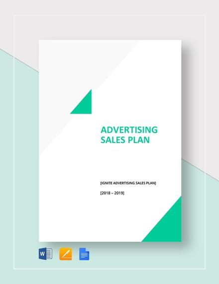 Advertising Sales Plan