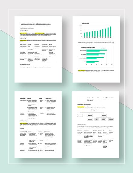 Sample Advertising Sales Plan