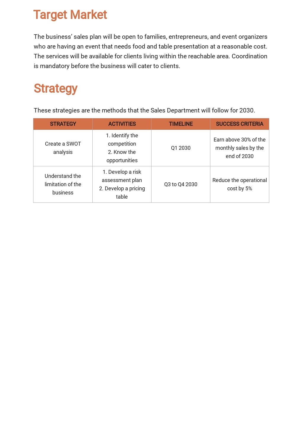 Catering Sales Plan Template 2.jpe