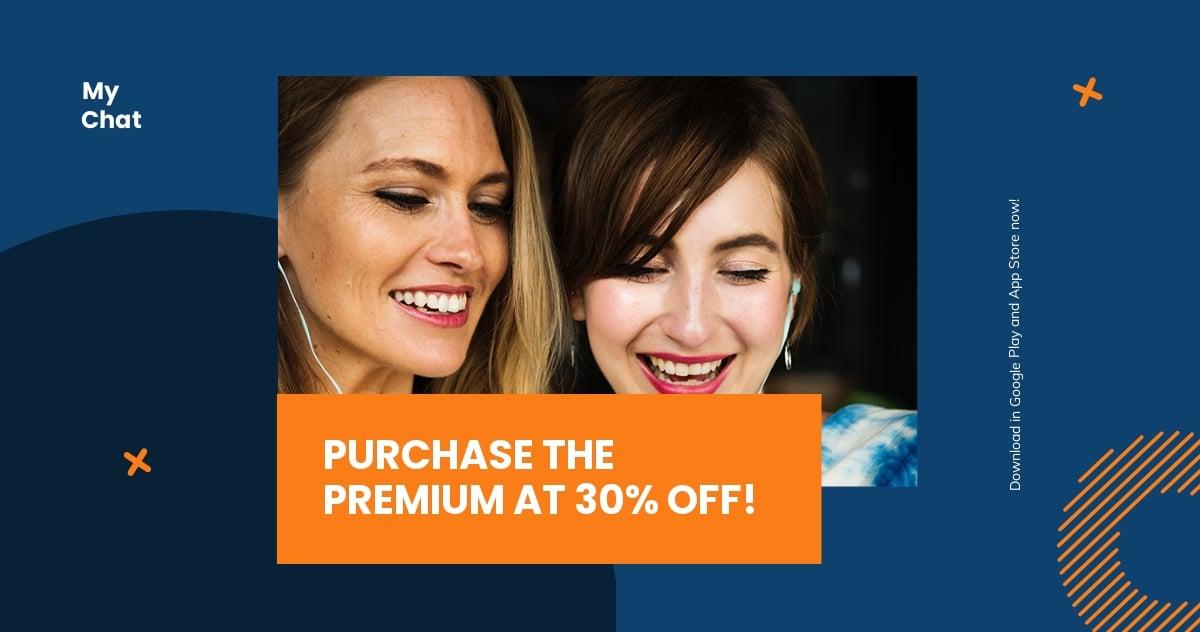 Free Smartphone App Promotion Facebook Post Template