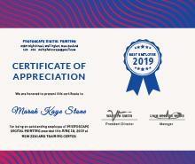 employee appreciation certificate template free
