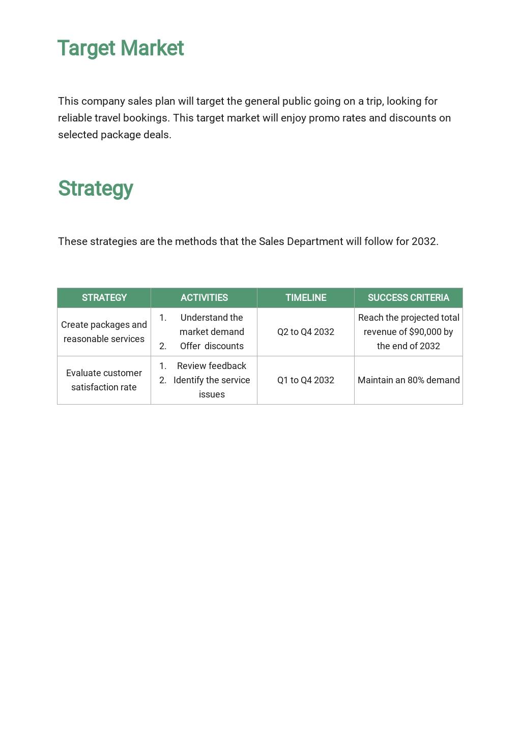 Travel Agency Sales Plan Template 2.jpe