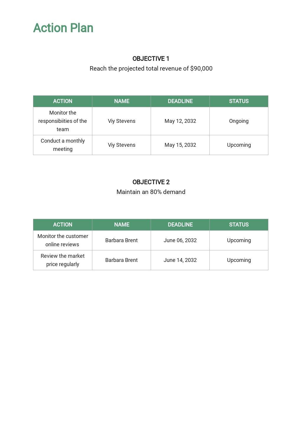 Travel Agency Sales Plan Template 4.jpe