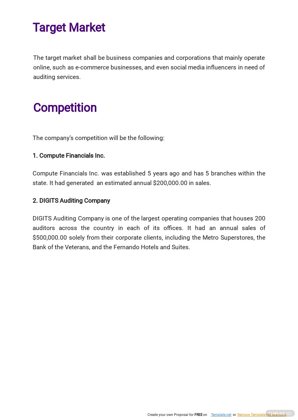 Auditing and Consulting Business Plan Template 2.jpe