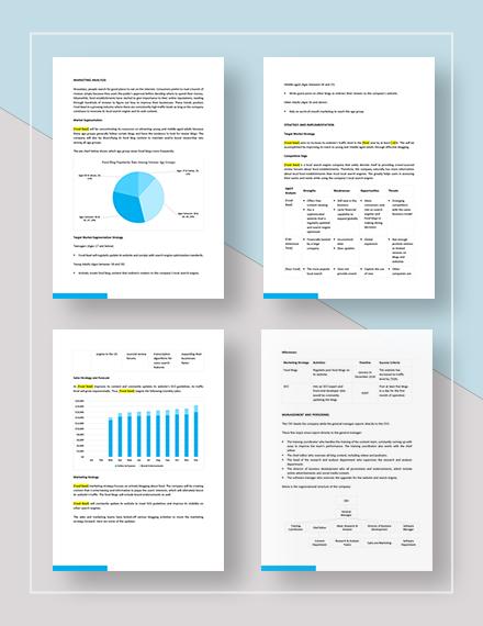 Blog Marketing Plan Download