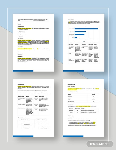 Debt Collection Business Plan Download