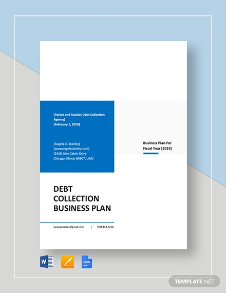 Debt Collection Business Plan Template