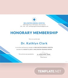 Free medical certificate template in psd ms word publisher free medical membership certificate template yelopaper Gallery