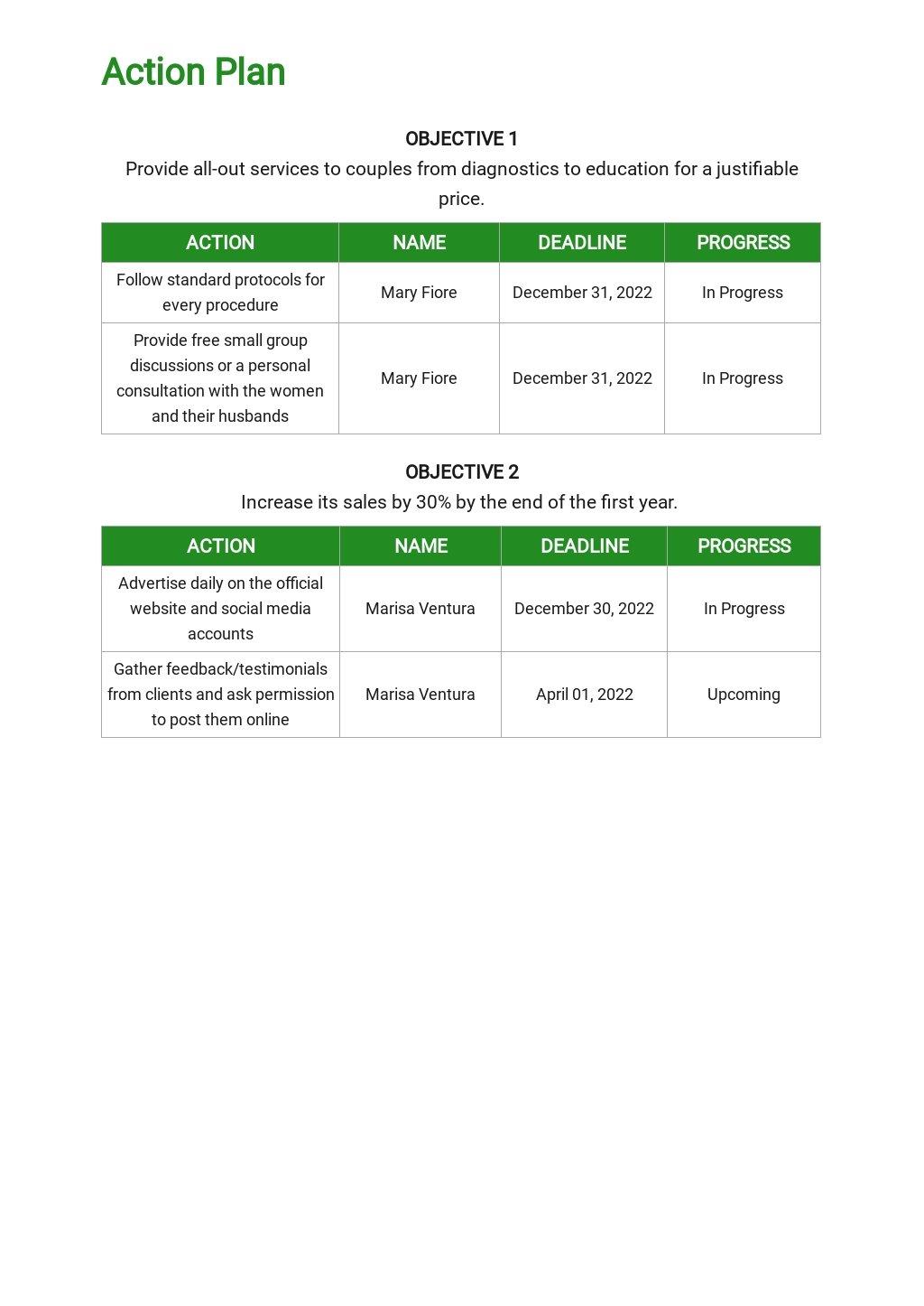 Fertility Clinic Marketing Plan Template 4.jpe