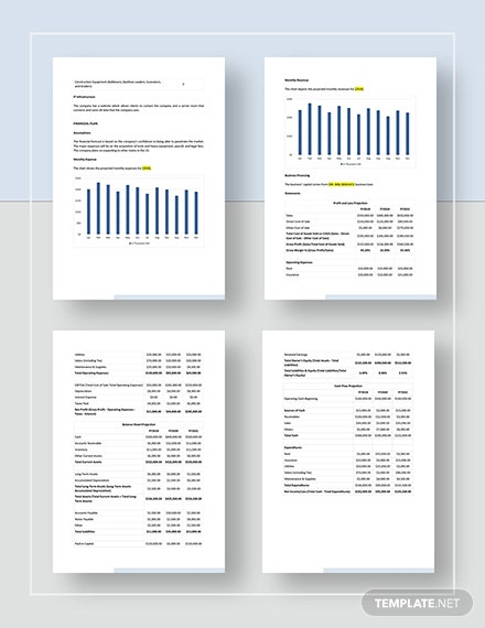 Sample General Contractor Business Plan