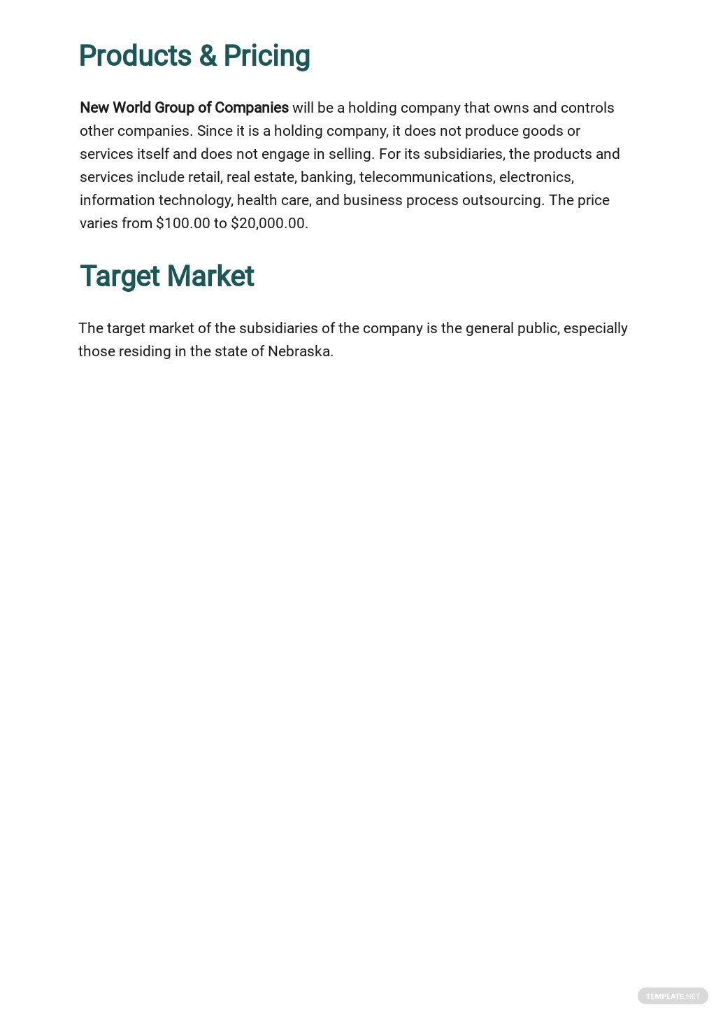 Holding Company Business Plan Template 2.jpe