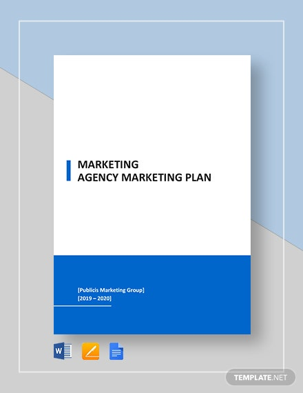 marketing agency marketing plan