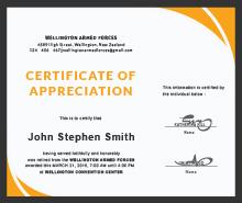Free retirement certificate of appreciation template in adobe free retirement certificate of appreciation template yadclub Gallery