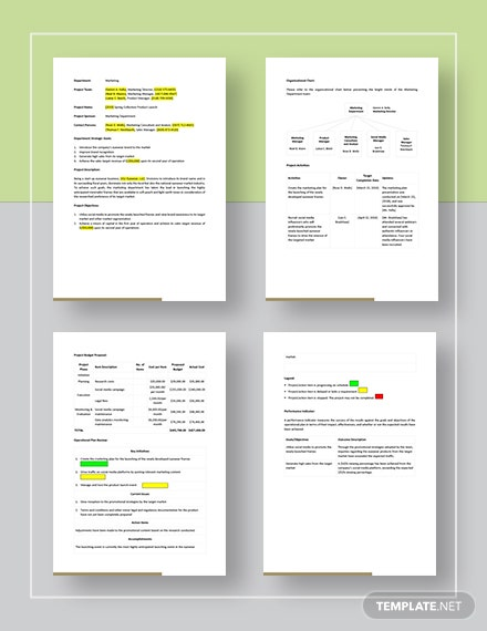 Startup Operational Plan Template