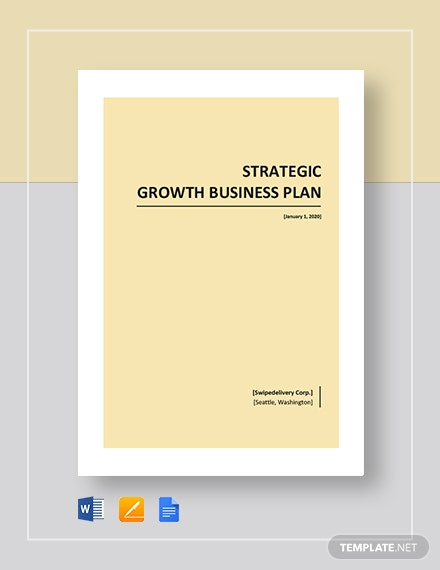 Strategic Growth Plan Template