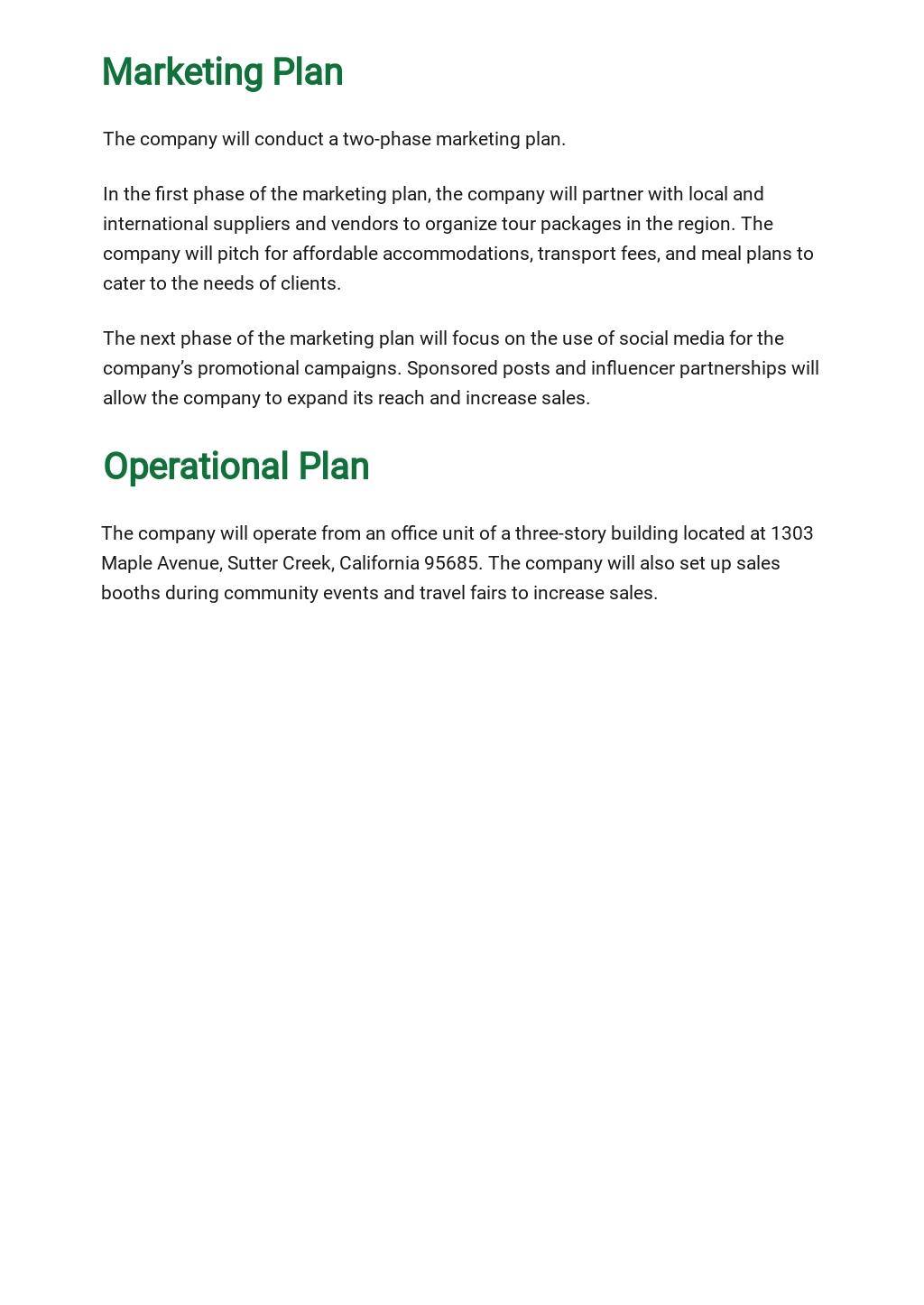 Tour Operator Business Plan Template 4.jpe