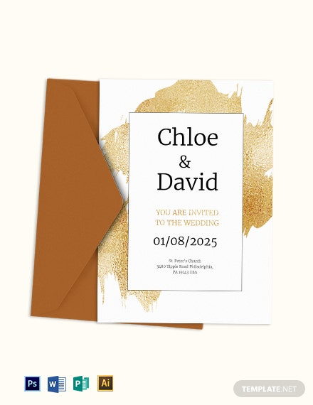 15 Modern Wedding Invitation Template